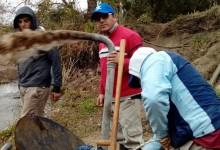 Continúan los Trabajos en Yanimas