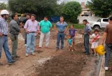 El Director de la DAU, Arq. Juan Luis Perez supervisó el avance y estado general de diversas obras