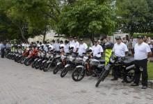 La Policia de Monteros suma 22 motos para la prevención y seguridad del municipio
