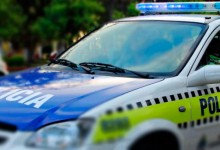 La Policía y fuerzas Nacionales desplegaron un operativo preventivo en la capital