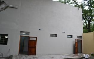 Obras de refaccion en la Escuela de Comercio Presidente Urquiza