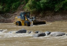 El Comité de Emergencia continua trabajando en la localidad de Escaba de Abajo