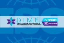Un año mas la Dirección de Informática del Ministerio de Economía certifica normas IRAM ISO 9001:2008
