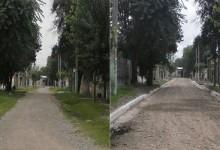 finalizacion de obras de la DAU en Pasaje Prospero Mena 220 de esta Capital