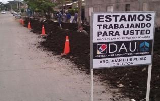 Obras de cloaca en San Miguel de Tucuman