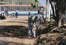Frentes de obra de la DAU trabajando en toda la provincia