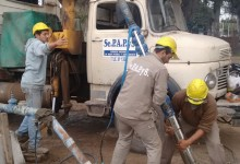 Instalación de nuevas bombas de agua en localidades del interior de la provincia