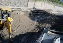 Avanzan con las obras de reparación y limpieza del Canal Sur
