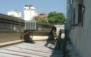 Obras de mantenimiento en edificios de la Capital
