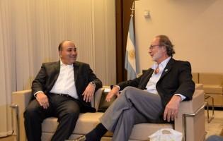 El gobernador Juan Manzur trató con Chain las proyecciones de la obra pública en Tucumán