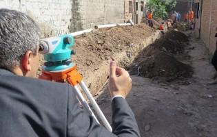 Ente de Infraestructura Comunitaria | Red de cloacas en barrio Juan Pablo II