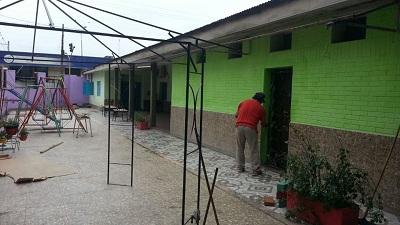 Construcciones escolares trabajos en jardines de for Leccion jardin infantes 2016