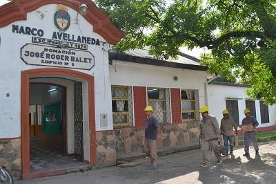 Construcciones Escolares | Trabajos en la Escuela N° 249 Marco Avellaneda