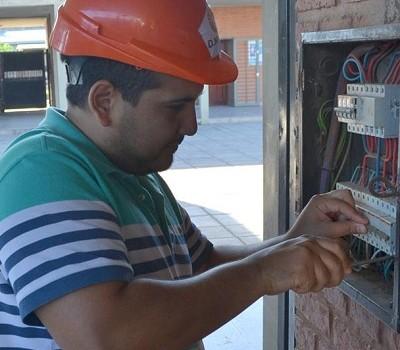 Construcciones Escolares   Trabajos en la Escuela Juan D. Peron