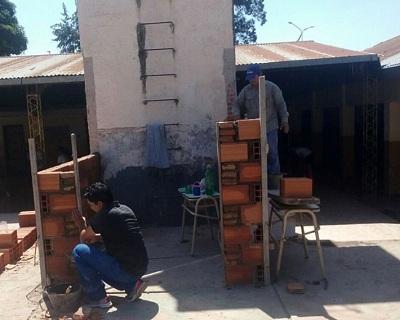 Construcciones Escolares   Obras en la Escuela Adolfo Kapelusz del Manantial
