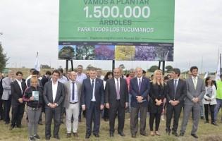 Ente de Infraestructura Comunitaria | El Gobierno lanza el plan de reforestación