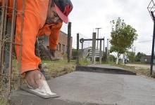 Ente de Infraestructura Comunitaria | Construcción de veredas comunitarias en Barrio Ampliación Federal