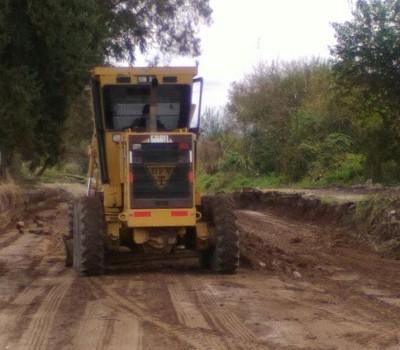DPV | Reconstrucción de los caminos de la localidad de Alto El Puesto en Graneros