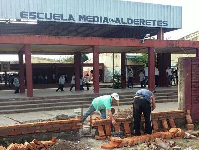 Construcciones Esolares | Obras en la Esc. Niñez Tucumana