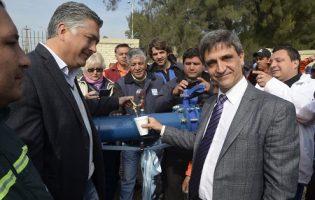 Ente de Infraestructura   Habilitan un pozo de agua que beneficiará a 800 familias