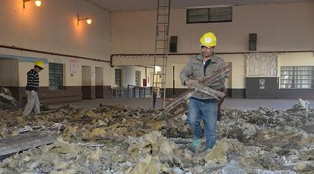 Construcciones Escolares | Refaccionan el techo de la escuela Patricias Argentinas