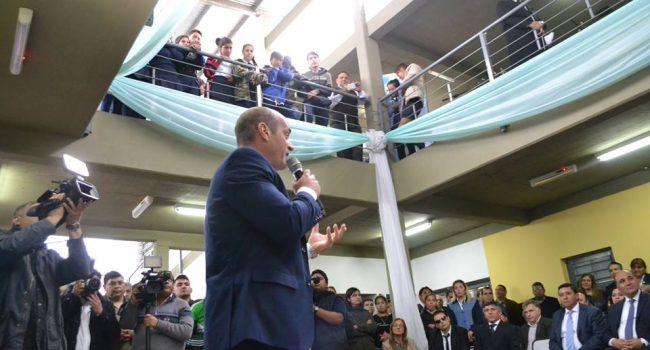 Construcciones Escolares | Inauguración Esc. Secundaria Juan B. Terán