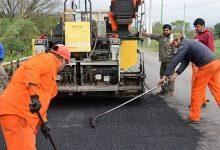 DPV | Mejoran los accesos a Tafi Viejo con obras de repavimentación