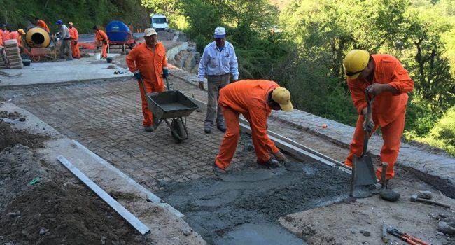 DPV | Trabajos sobre la Ruta N°307 a los valles