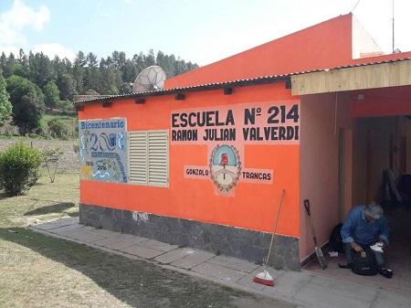Construcciones Escolares | Trabajos en la Esc. N° 214 de Trancas