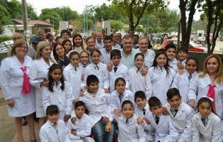 Construcciones Escolares   Trabajos en la Esc. Mario Bravo de Los Pizzarros de La Cocha