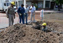 SAT | Avanza la renovación de la red de agua potable en Villa 9 de Julio