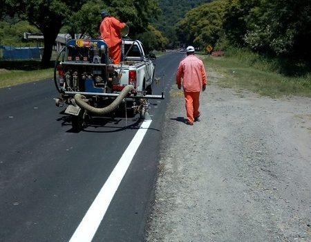 DPV | Trabajos de señalizacion sobre Ruta Provincial 338