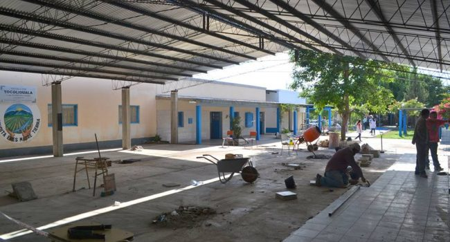 Construcciones Escolares | Trabajos en la Esc. Nº 42 de Benjamín Paz