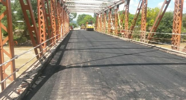 DPV | Trabajos de restauración en carpeta asfáltica sobre Ruta 312