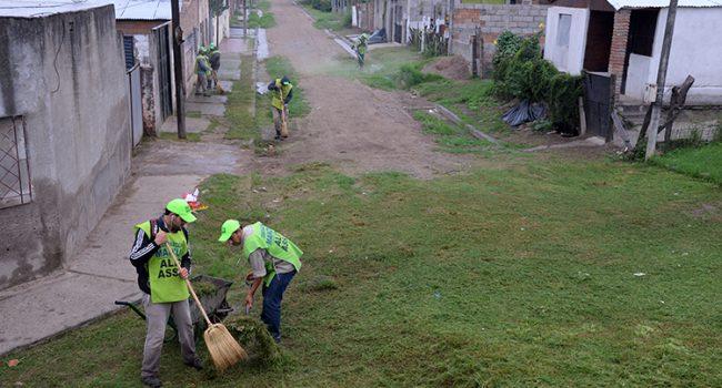 Secretaria de Saneamiento y Mejoramiento | Tareas de limpieza en el territorio tucumano