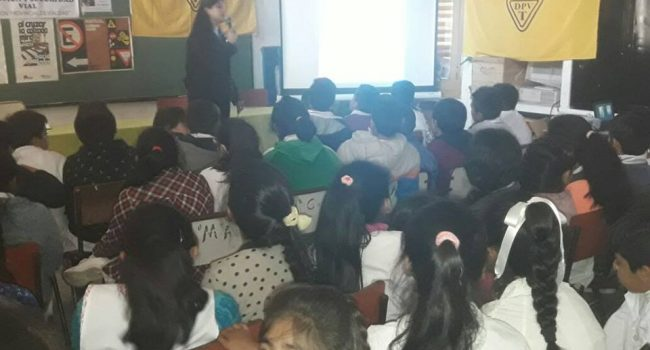 DPV | Campañas de concientizacion a Escuelas de la provincia