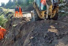 DPV | Trabajos en la ruta de Escaba