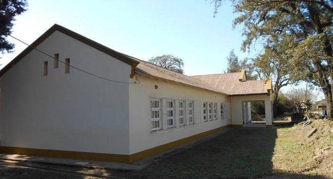 Construcciones Escolares   Trabajos de mejoras en la Esc. N°186 de Arcadia