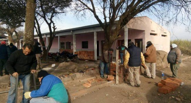 Construcciones Escolares | Trabajos en la Escuela Pacara