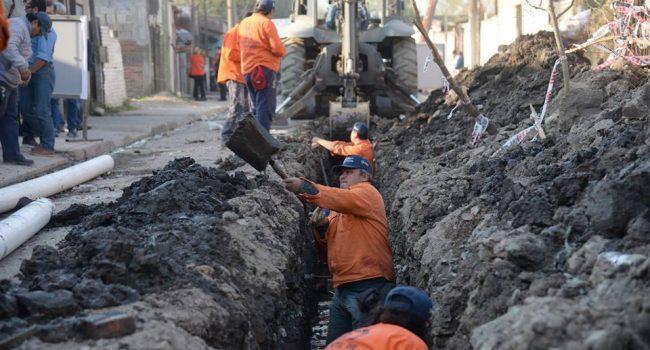 Ente de Infraestructura Comunitaria   Trabajos en el Barrio Olleros