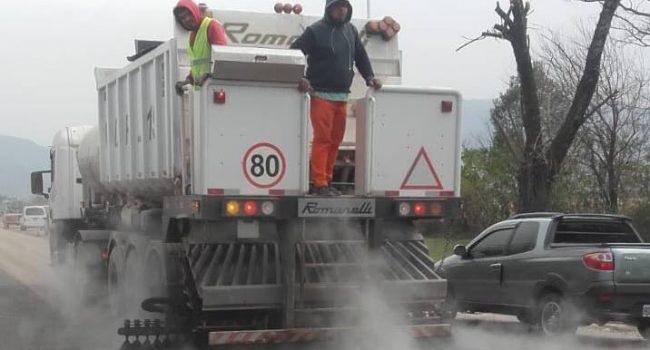 DPV | Tareas de Mantenimiento y repavimentacion en la Ruta N°321
