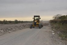 DPV | Trabajos de seguridad en la localidad de Lules