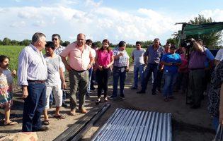 El Gobierno brindó asistencia a damnificados por la lluvia