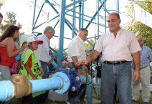 Agua | Juan Manzur inauguró obras en Delfín Gallo