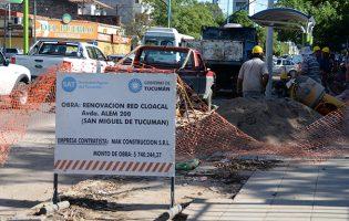 SAT | Distintos frentes de obras en toda la provincia
