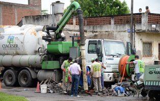 SAT | Continuan los trabajos en los barrios
