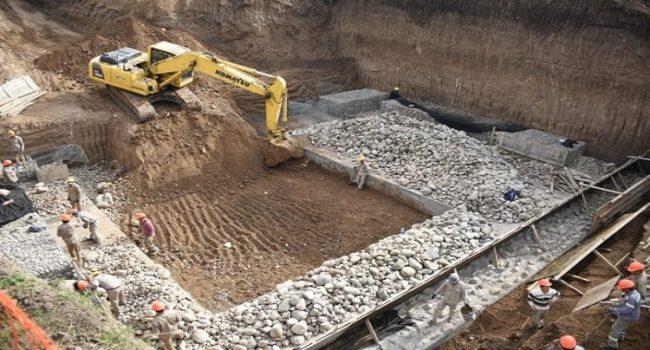 DPV | Avanza la ejecución de un puente de acceso a Tafí Viejo