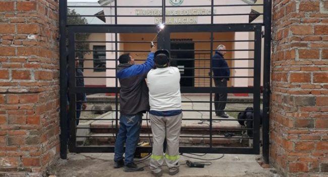 Construcciones Escolares | Trabajos de herreria en Cruz Alta