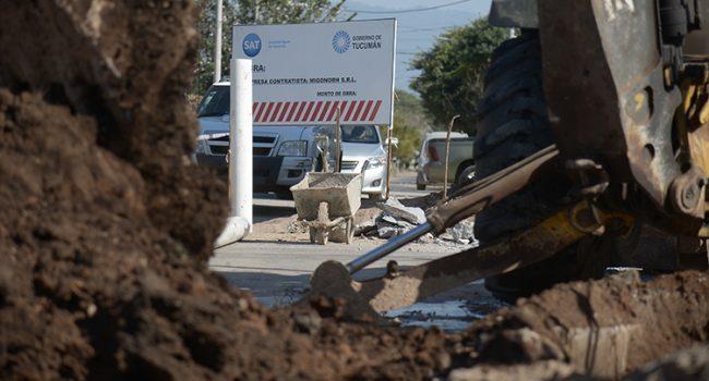 SAT | Continúan en los barrios trabajando los frentes de obras