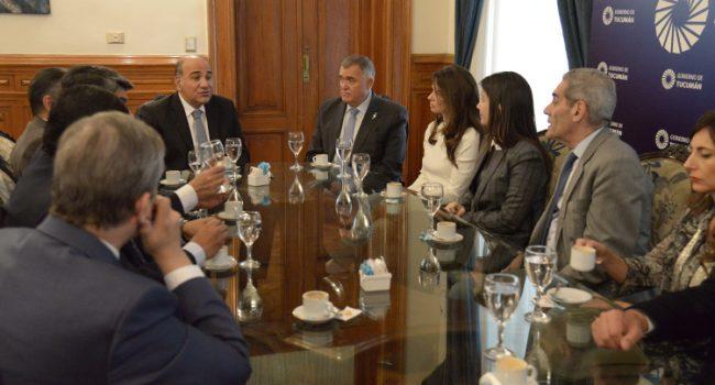 Manzur promulgó la creación del Centro Judicial de Banda del Río Salí